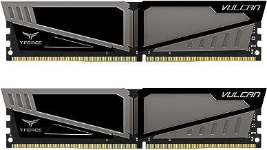 Team 16GB (2 x 8GB) T-Force Vulcan DDR4 PC4-24000 3000MHz Desktop Memory Model TLGD416G3000HC16CDC01
