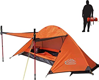 camppal 1 Person Tent for Camping Hiking Mountain Hunting...