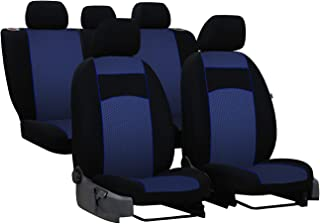 Sitzbezüge Universal Schonbezüge Premium kompatibel mit Dacia DOKKER FL