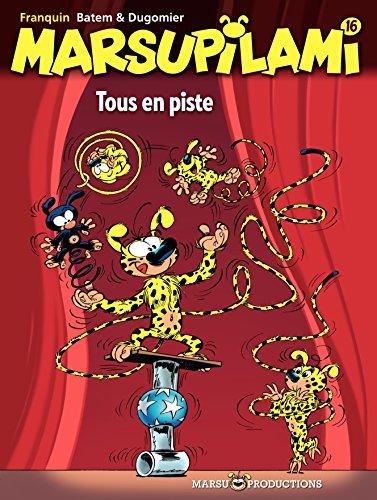 Marsupilami – tome 16 - Tous en piste (French Edition)