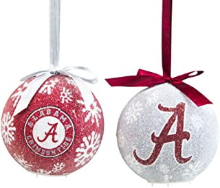 Alabama Crimson Tide Official NCAA LED Box Set Ornaments by Evergreen Enterprises