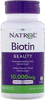 Natrol Biotin Maximum Strength - 10,000mcg, 100 Tablets