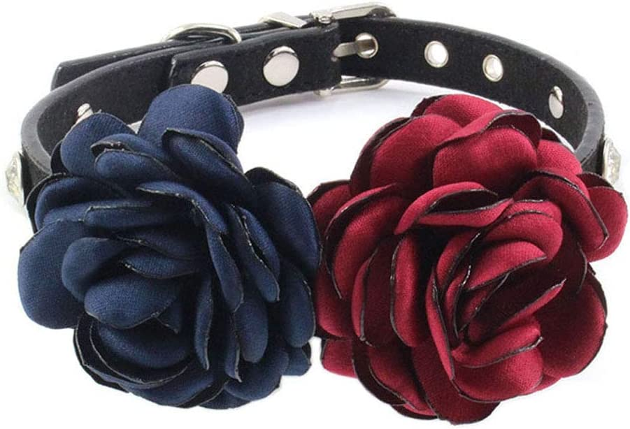 Benala Spring Floral Pattern Dog Collar Handmade Adjustable favorite Special price for a limited time and