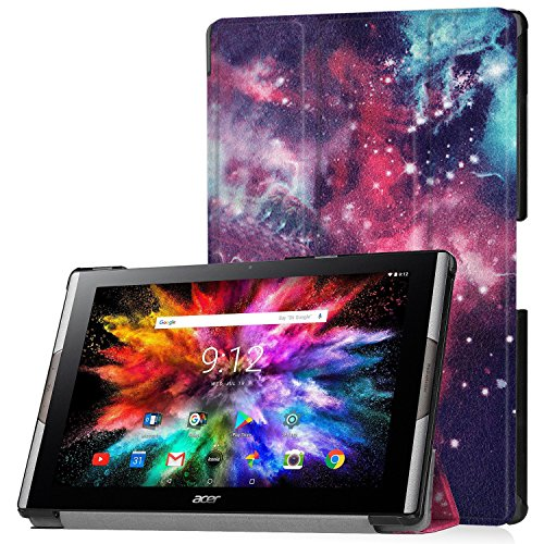 Hülle für Acer Iconia Tab 10 A3-A50 10.1 Zoll Schutzhülle Tablet Smart Cover mit Standfunktion & Touchpen