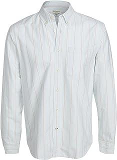 Club Monaco Men's Stripe Oxford Shirt