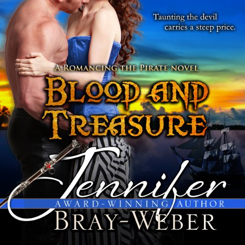 Blood and Treasure  audiobook cover art