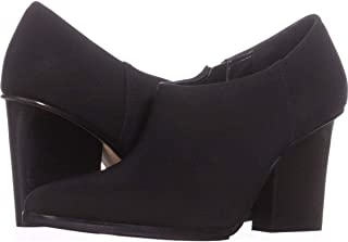 Womens Verie Pointed Toe Ankle Fashion Boots, Black, Size 9.5