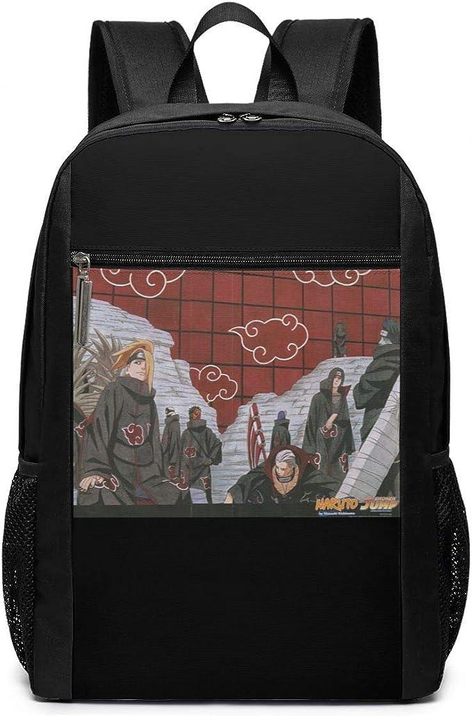 Travel Laptop Backpack Naruto Friends College School Bookbag Computer Bag Casual Daypack For Women Men