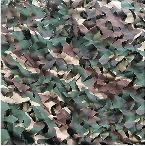 Qjifangwzh Filets de Camouflage, Tissu d'Oxford masquant Le Camping extérieur de Fabrication de Camouflage, Quatre Tailles