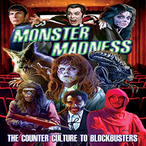 Monster Madness audiobook cover art