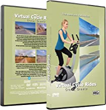 The Ambient Collection Virtual Cycle Rides DVD - Crete, Greece - for Indoor Cycling, Treadmill and Exercise Workouts