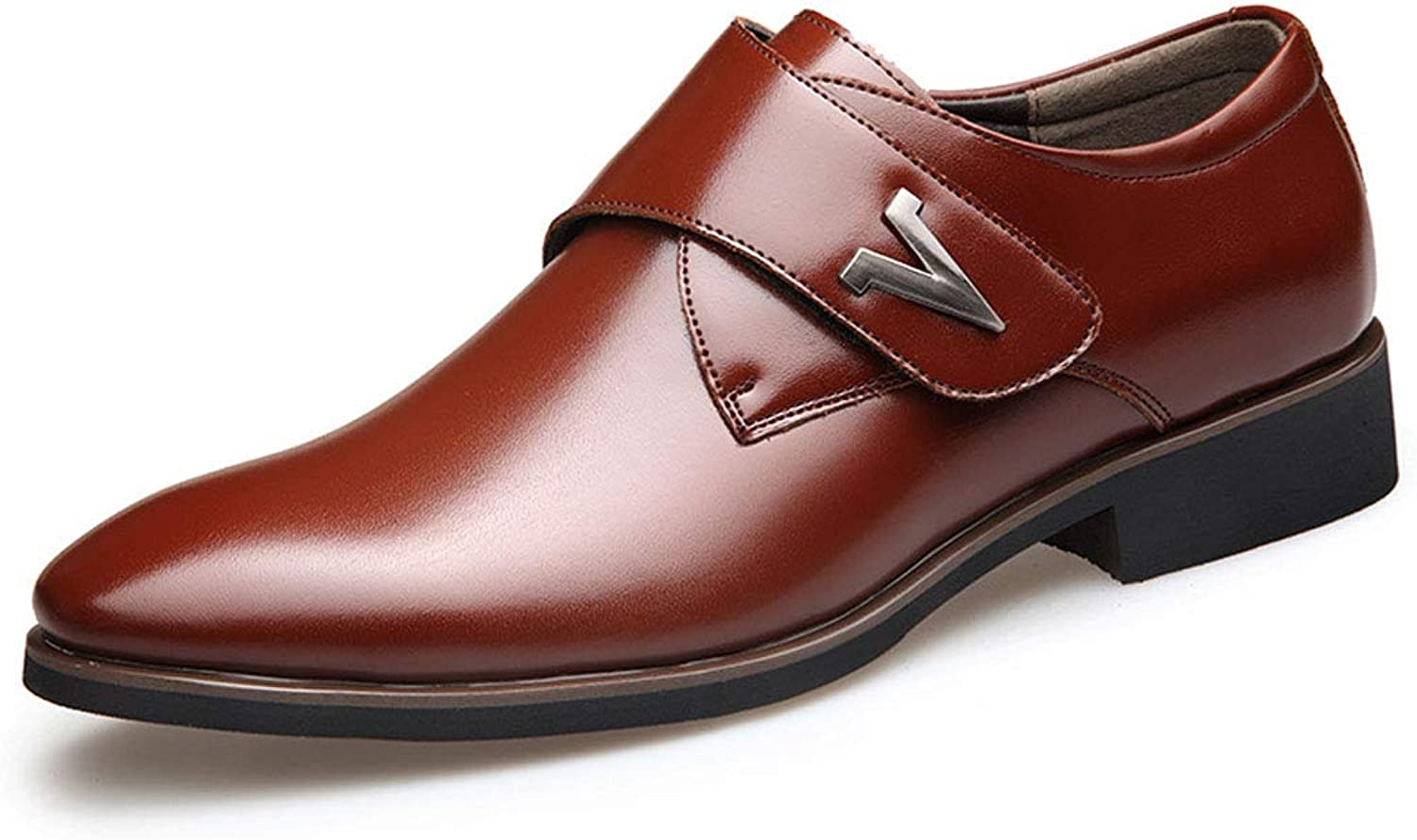 Men ' s Leather Business and Comfortable lace Casual Men ' s shoes