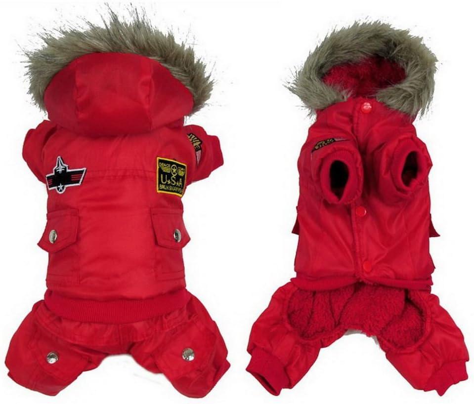 Ranphy Small Medium Dog sale Snowsuit Waterproof Coat Max 65% OFF Jumpsuit US