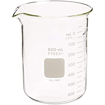 600 mL 6//pk CORNING INC 3453068 Pyrex Vista 70000-600 Griffin Style Beakers