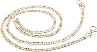D DOLITY Metal Purse Shoulder Crossbody Bag Chain Straps Handle Handbag Replacement