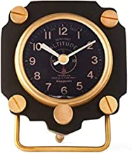 Pendulux, Altimeter Table Alarm Clock, Aviator Deck Clock, WWII Aircraft, 5
