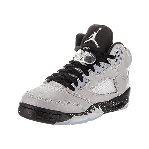 the latest 28e4d b6a1f NIKE Air Jordan 5 Retro GG LTD 2016 Basketball Sneaker Gray Black