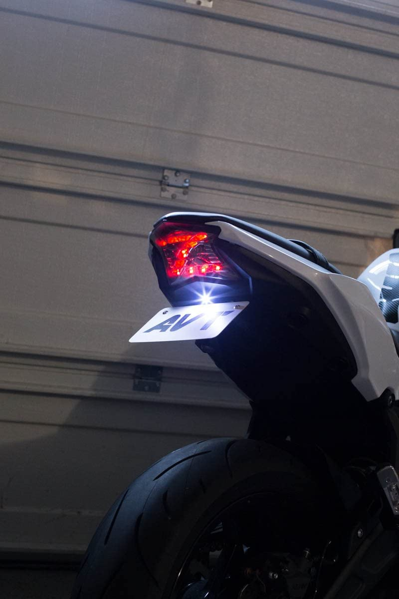 Tail Tidy License Plate Holder /& Turn Signal Light For Kawasaki Z650 NINJA650