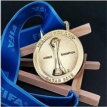 World Club Cup souvenir FIFA voetbal kampioen gouden medaille Fan memorabilia metalen replica Anti-corrosie en geen vervag...