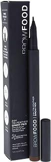 LashFood BrowFood 24H Tri-Feather Brow Pen - Dark Brunette for Women - 0.03 oz