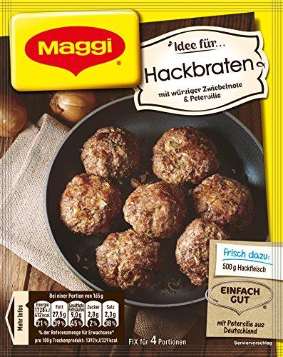Maggi Fix Hackbraten, 24er Pack (24 x 92 g Beutel)