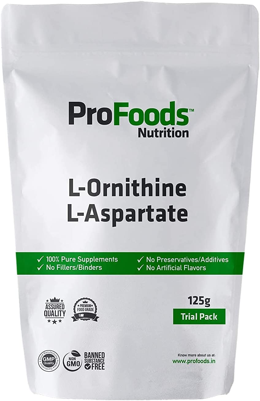 Anjani Profoods L specialty shop Ornithine 125 Large special price Aspartate Grams Powder