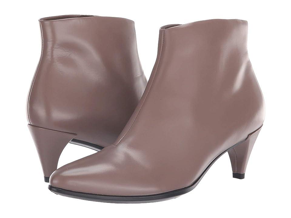 ECCO Shape 45 Kitten Heel Boot (Deep Taupe Calf Leather) Women