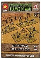 Battlefront Miniatures 戦争ベトナムセット炎 - PAVN部門サポート - FWVBX15