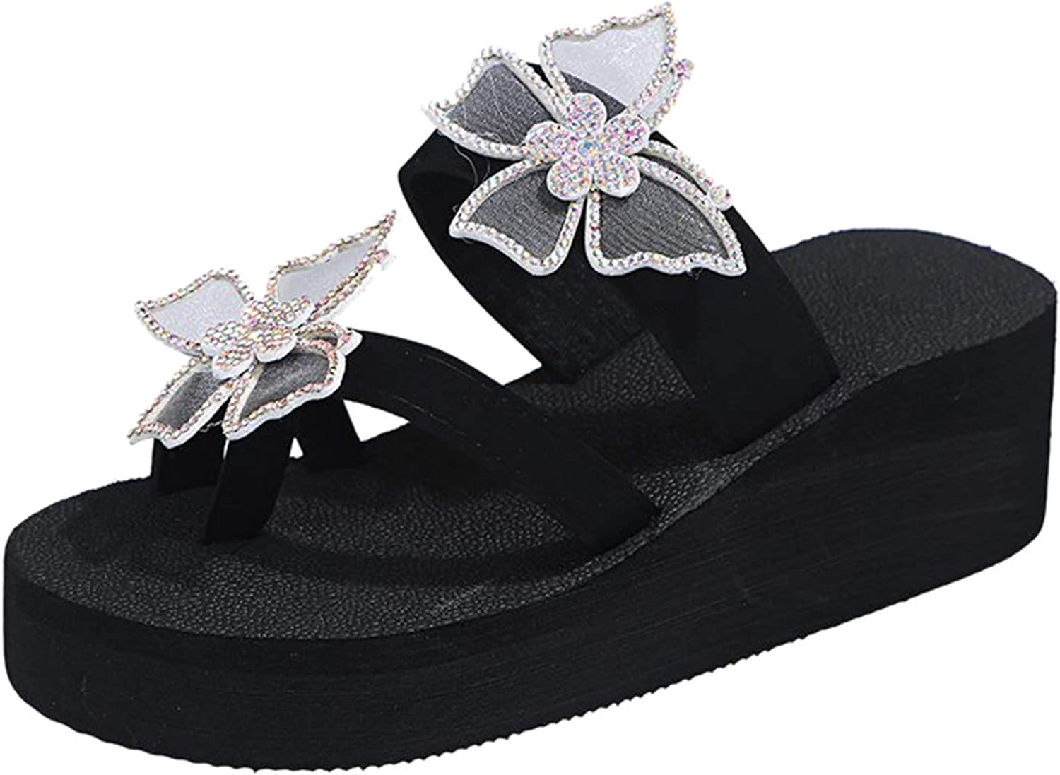 Sandals for Women Dressy,Women's 2021 Comfy Diamond Flat Sandal Shoes Casual Summer Beach Outdoor Slippers Roman Shoes