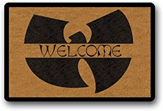 Wu Tang Welcome - Welcome Mat, Coir Doormat, Funny Mat, Weatherproof, Print, Housewarming Gift 45.72x76.2cm