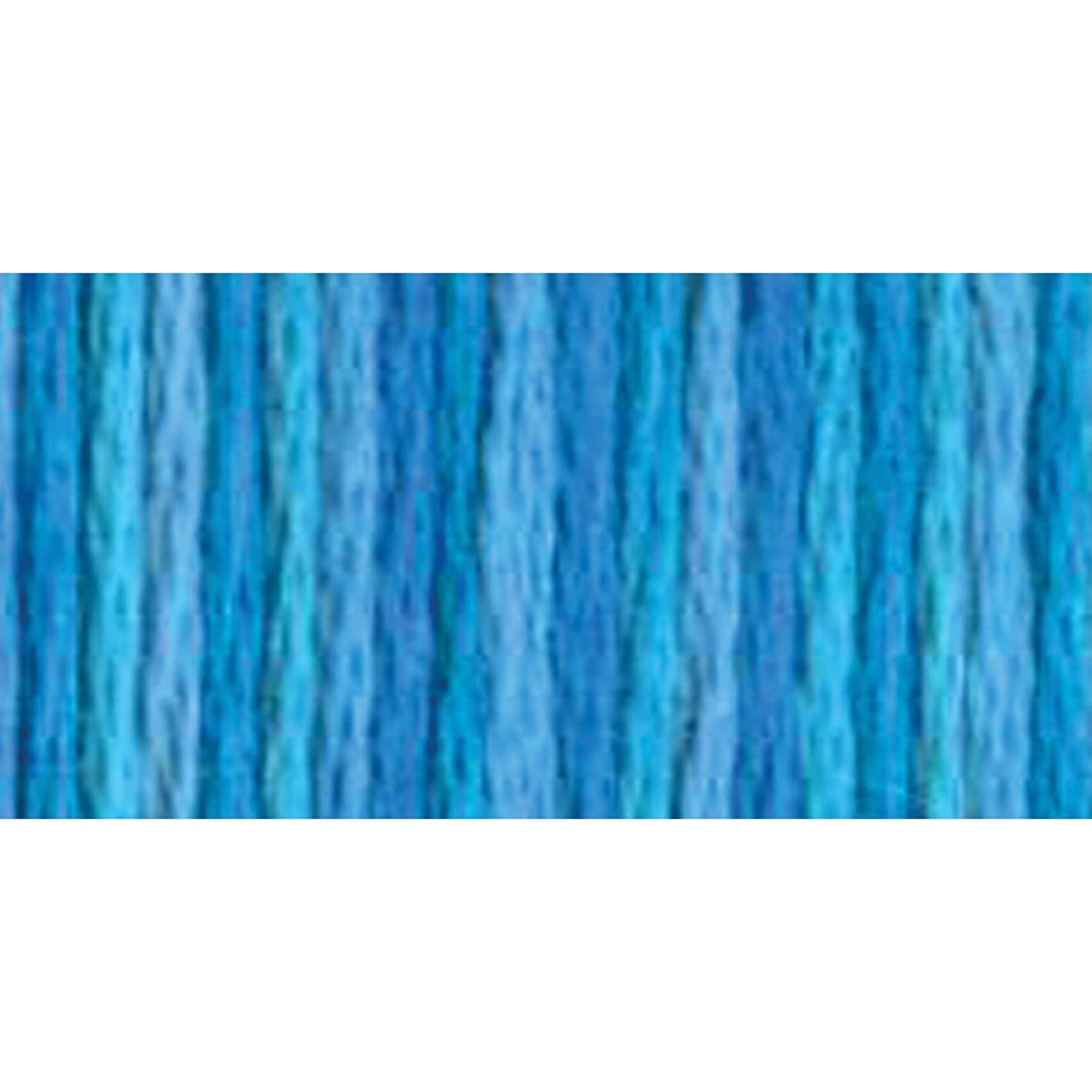 DMC 417F-4022 Color Variations Six Strand Embroidery Floss, 8.7-Yard, Mediterranean Sea wxfaujoyecj924