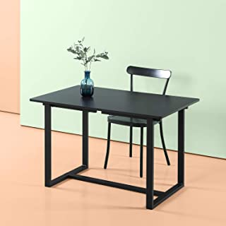 Zinus Alto Rectangular Dining, Office Desk, Computer Table, Quick Snap Bolt & Nut Free Easy Assembly, Award Winning Design, Espresso