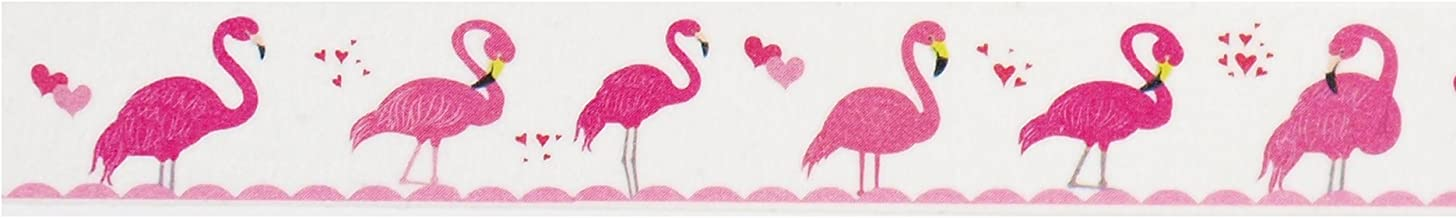 Flamingo Washi Tape (1 Roll - 9/16