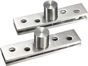 Acier inoxydable rotatif /à 360//° 58mm x 11mm x 1mm 4 pcs uxcell Porte Pivot Charni/ère