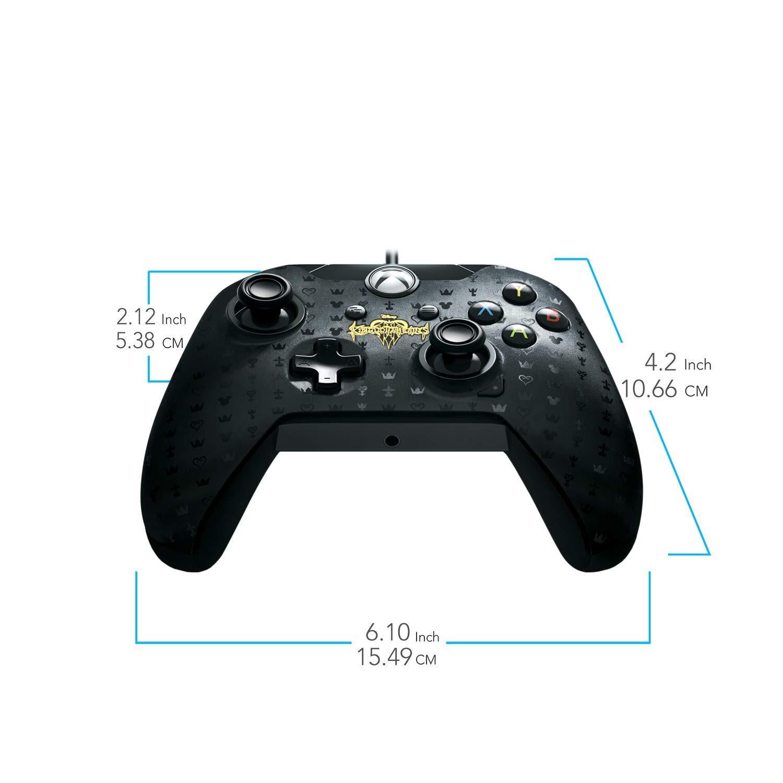 PDP - Mando Con Cable Kingdom Hearts Licenciado (Xbox One): Amazon ...