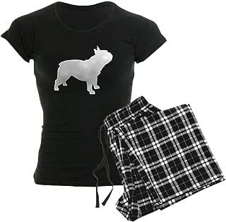 CafePress French Bulldog Women's Dark Pajamas Women's PJs