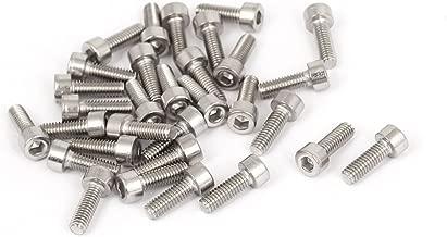 Eisenwaren2000 Tornillos cil/índricos con hex/ágono interior ISO 4762, DIN 912, acero inoxidable A2