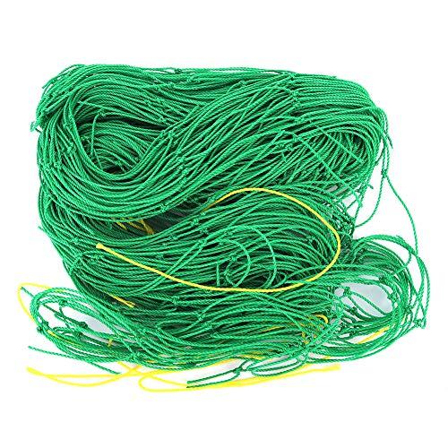 WEILafudong Det bästa kraftiga nätet för att odla trädgårdsblommor, gröna ärter, gurkor, tomater, bönor och vinstockar för att stödja den starka tillväxten av växter som krypande nätliknande staket
