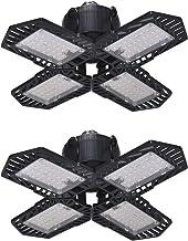 Zhang Asia 10 0W LED Garage licht vouwen ultradunne mijnbouw lamp schijnwerper vervormbaar LED plafondlicht voor parkeerte...