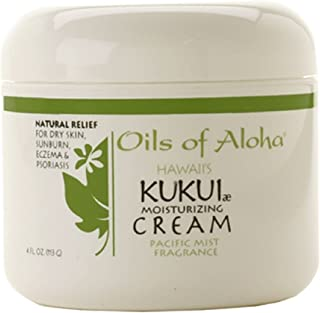 Oils of Aloha Hawaiian Kukui Moisturizing Cream (Pacific Mist) - 4 Ounces