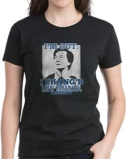 Chang'd My Mind Women's Dark Cotton T-Shirt
