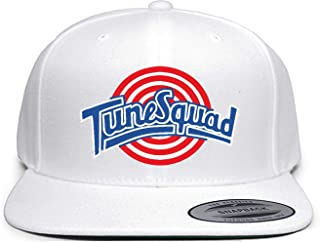 White Snapback Space Jam Tune Squad Logo Hat