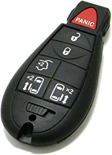 OEM 6-Button FOBIK Key Fob Remote Compatible With Chrysler Town & Country (FCC ID: IYZ-C01C, P/N: 68066868, 56046704) photo
