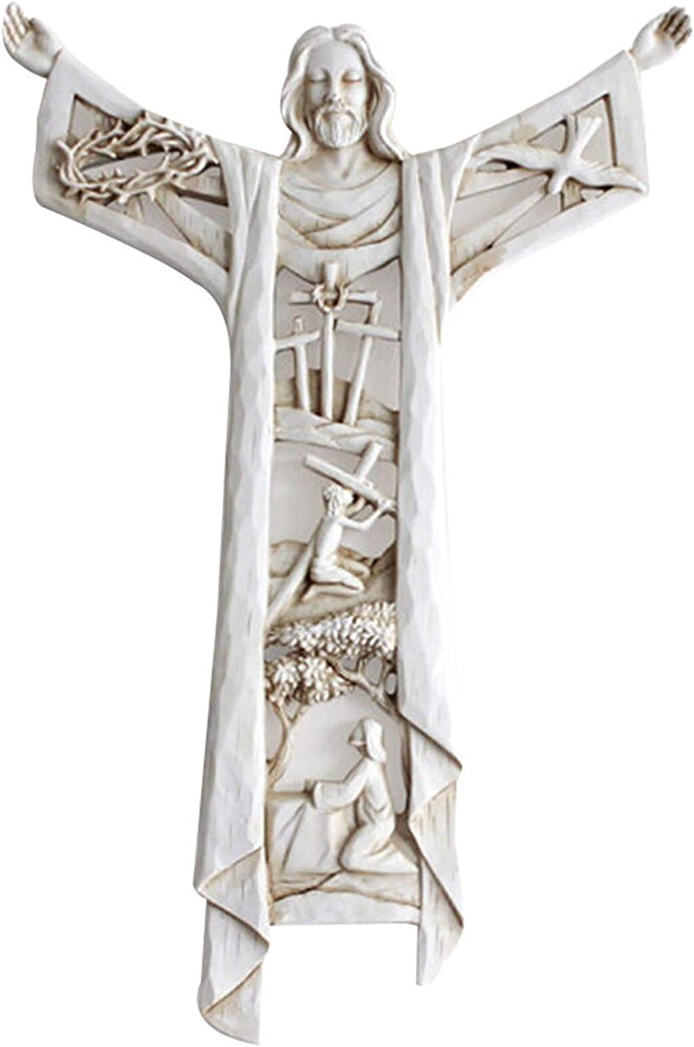 LEFUYAN A Risen Outlet Limited price SALE Christ Wall Last Supper Stone Cross
