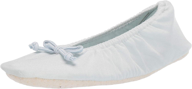 Latest item MUK LUKS Women's Stretch Ballerina Satin Slipper Sale price