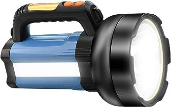 15000 mAh oplaadbare LED-zaklamp zoeklicht, 3000LM multifunctioneel campinglicht, waterdichte buitenschijnwerper, krachtig...
