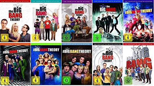 Cover The Big Bang Theory Staffel 1-10 (1+2+3+4+5+6+7+8+9+10) [DVD Set]