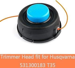 Remplacement de fil pour débroussailleuse et débroussailleuses 2,4 mm x 88 m pour HUSQVARNA