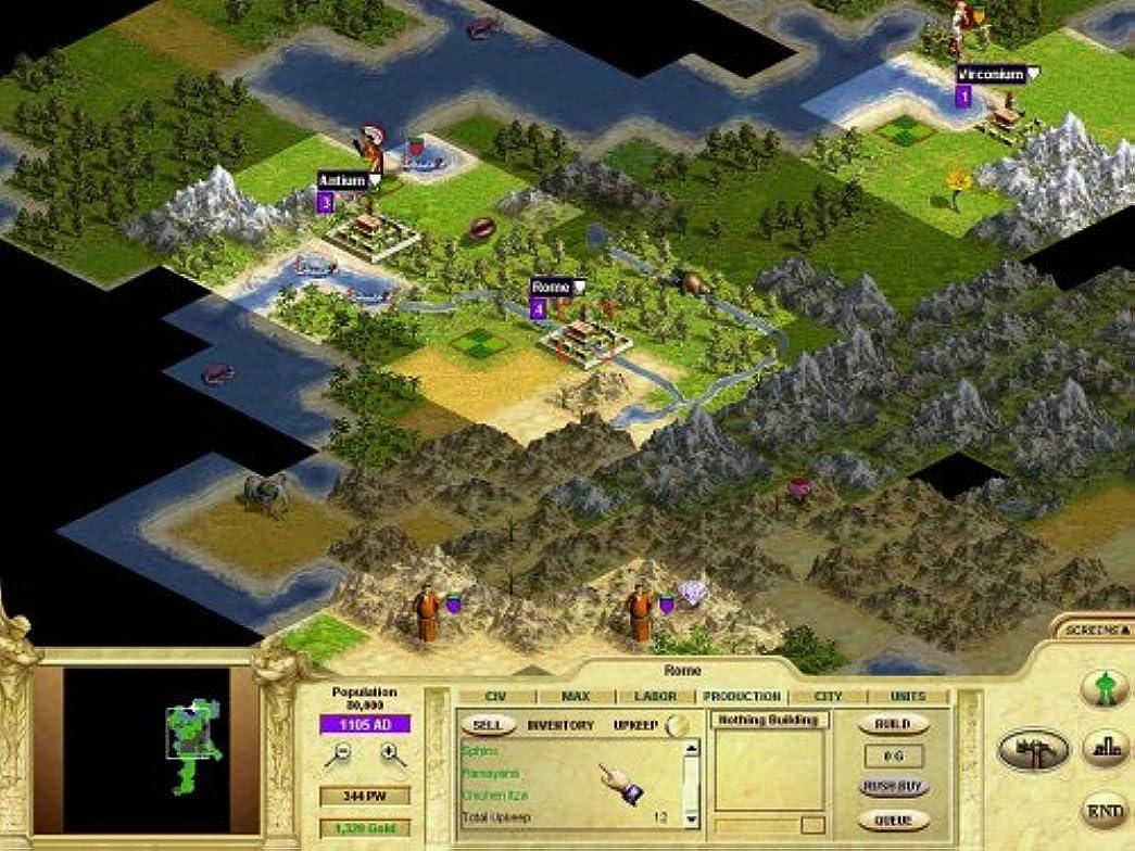 上院議員ダルセット指標Civilization: Call to Power / Game