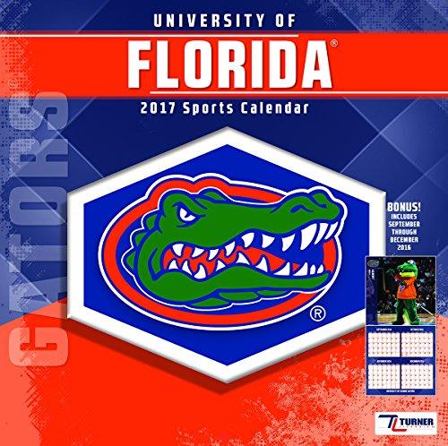 "Turner Licensing Sport 2017 Florida Gators Team Wall Calendar, 12""X12"" (17998011799)"